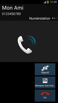 Samsung Galaxy Note 3 - Contact, Appels, SMS/MMS - Utiliser la visio - Étape 6