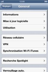 Apple iPhone 4 - Internet et roaming de données - Configuration manuelle - Étape 5