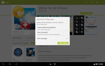 Sony Xperia Tablet Z LTE - Apps - Installieren von Apps - Schritt 16
