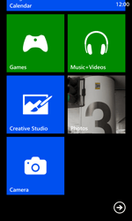 Nokia Lumia 925 - Getting started - Personalising your Start screen - Step 5