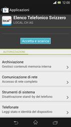 Sony Xperia Z - Applicazioni - Installazione delle applicazioni - Fase 8