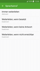 Samsung Galaxy J5 - Anrufe - Rufumleitungen setzen und löschen - 2 / 2