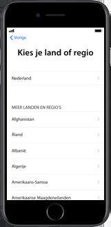 Apple iPhone 8 Plus (Model A1897) - Instellingen aanpassen - Activeer het toestel en herstel jouw iCloud-data - Stap 7