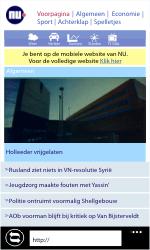 Nokia Lumia 710 - Internet - Internet gebruiken - Stap 13