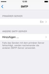Apple iPhone 4 S mit iOS 7 - E-Mail - Konto einrichten - Schritt 16