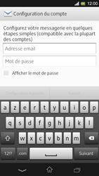 Sony Xpéria SP - E-mails - Ajouter ou modifier un compte e-mail - Étape 5