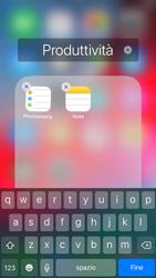 Apple iPhone 7 - iOS 12 - Operazioni iniziali - Personalizzazione della schermata iniziale - Fase 7