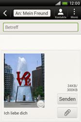 HTC Desire C - MMS - Erstellen und senden - 2 / 2