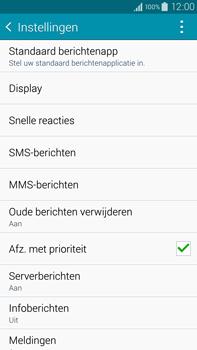 Samsung N910F Galaxy Note 4 - SMS - Handmatig instellen - Stap 6