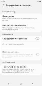 Samsung Galaxy J6 Plus - Données - créer une sauvegarde avec votre compte - Étape 6