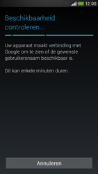 HTC Desire 601 - apps - account instellen - stap 9