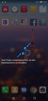 Huawei P20 - Startanleitung - Installieren von Widgets und Apps auf der Startseite - Schritt 4