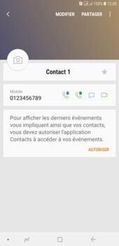 Samsung Galaxy J4+ - Contact, Appels, SMS/MMS - Ajouter un contact - Étape 11