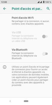 Crosscall Core M4 - Internet et connexion - Partager votre connexion en Wi-Fi - Étape 6