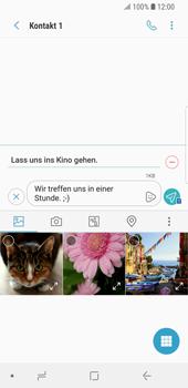 Samsung Galaxy S9 - MMS - Erstellen und senden - 16 / 23