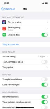 Apple iPhone 11 Pro - iOS 14 - e-mail - handmatig instellen - stap 4