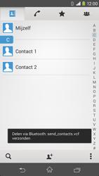 Sony Xperia M2 - contacten, foto