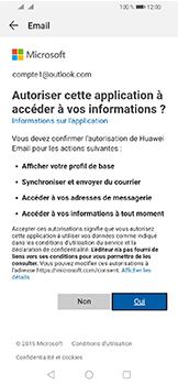 Huawei Y6 (2019) - E-mails - Ajouter ou modifier votre compte Outlook - Étape 7