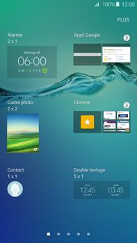 Samsung Galaxy S6 edge+ (G928F) - Prise en main - Installation de widgets et d