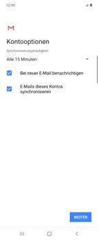 Samsung Galaxy Z flip - E-Mail - Manuelle Konfiguration - Schritt 20