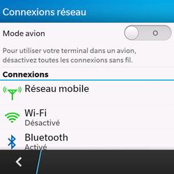 BlackBerry Q10 - Internet - configuration manuelle - Étape 6