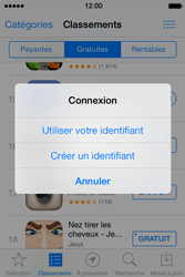 Apple iPhone 4S iOS 7 - Applications - Configuration de votre store d