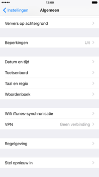 Apple iPhone 6s Plus iOS 10 - Resetten - Fabrieksinstellingen terugzetten - Stap 4