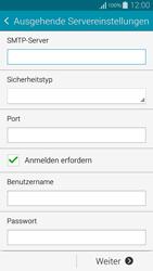 Samsung G850F Galaxy Alpha - E-Mail - Manuelle Konfiguration - Schritt 12