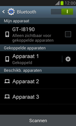 Samsung Galaxy S III Mini - bluetooth - headset, carkit verbinding - stap 8