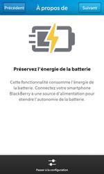 BlackBerry Z10 - Internet et connexion - Partager votre connexion en Wi-Fi - Étape 9