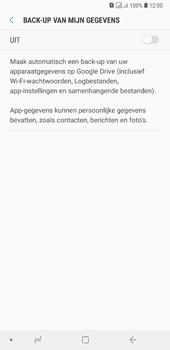 Samsung Galaxy A7 (2018) - toestel resetten - back-up maken met jouw account - stap 9