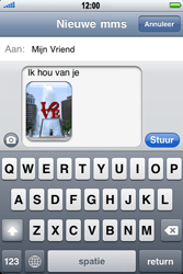 Apple iPhone 3G - MMS - hoe te versturen - Stap 12