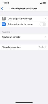 Apple iPhone X - iOS 13 - E-mail - Configuration manuelle - Étape 31