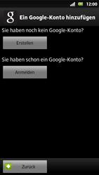 Sony Xperia Sola - Apps - Konto anlegen und einrichten - 6 / 19