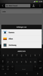 HTC One Max - MMS - Erstellen und senden - 2 / 2