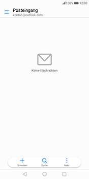 Huawei Mate 10 Pro - E-Mail - Konto einrichten (outlook) - 2 / 2