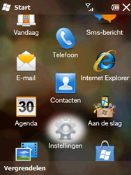 HTC T3333 Touch II - netwerk en bereik - gebruik in binnen- en buitenland - stap 3