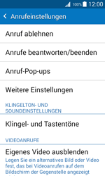Samsung J100H Galaxy J1 - Anrufe - Anrufe blockieren - Schritt 5