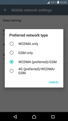 Sony Xperia X Compact (F5321) - Network - Change networkmode - Step 8