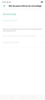 Oppo Reno 2 - Sécuriser votre mobile - Activer le code de verrouillage - Étape 6