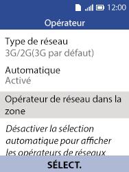 Alcatel 3088X - Internet et connexion - Activer la 4G - Étape 6