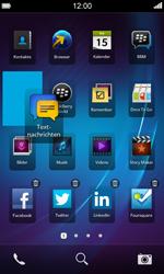 BlackBerry Z10 - Startanleitung - Personalisieren der Startseite - Schritt 4