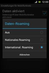 Sony Xperia E - Ausland - Auslandskosten vermeiden - 2 / 2