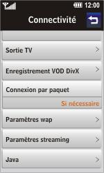 LG GC900 Viewty Smart - Internet - Configuration manuelle - Étape 12