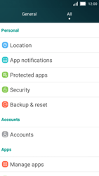 Huawei Y5 - Mobile phone - Resetting to factory settings - Step 3