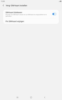 Samsung galaxy-tab-a-8-0-lte-2019-sm-t295 - Beveiliging en ouderlijk toezicht - Hoe wijzig ik mijn SIM PIN-code - Stap 7