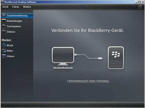 BlackBerry Z10 - Software - Installieren von Software zur PC-Synchronisierung - Schritt 13