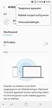 Samsung galaxy-a6-sm-a600fn-ds - WiFi - Mobiele hotspot instellen - Stap 8
