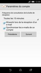 HTC Desire 320 - E-mail - Configuration manuelle - Étape 18