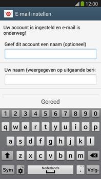 Samsung N9005 Galaxy Note III LTE - E-mail - Account instellen (IMAP zonder SMTP-verificatie) - Stap 18